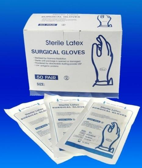large surgical gloves